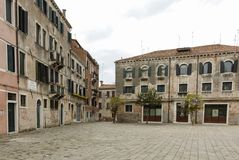 美丽如画和浪漫市的细节威尼斯Venezia,意大利 免版税库存照片