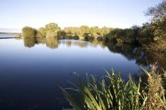 美丽如画的湖 图库摄影