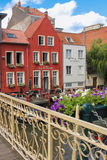 美丽如画的大厦 跟特 比利时 免版税库存照片
