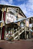 美丽如画的市毛里求斯共和国的路易港 库存图片