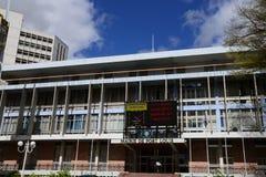 美丽如画的市毛里求斯共和国的路易港 免版税图库摄影