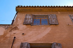 美丽如画的房子在希腊 库存图片