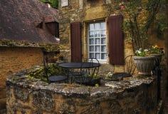 美丽如画的法国房子 库存图片