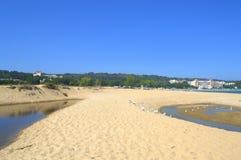 美丽如画的海滩自然,保加利亚 库存图片