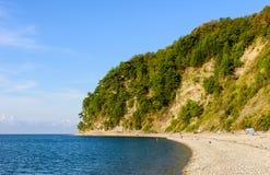 美丽如画的海滩 免版税库存照片