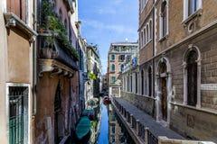 美丽如画的都市风景在威尼斯 库存图片
