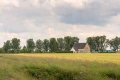 美丽如画的风景在乡区 免版税库存照片
