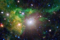 美丽宇宙 美国航空航天局装备的这个图象的元素 免版税库存图片