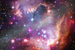 美丽宇宙 美国航空航天局装备的这个图象的元素 库存照片