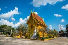 美丽泰国的寺庙 免版税库存照片