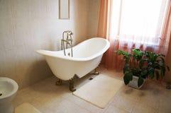美丽浴的卫生间 库存照片
