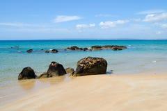 美丽澳大利亚的海滩 图库摄影