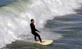 美丽的上涨人员体育运动水 免版税库存图片