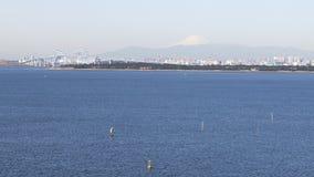 美丽的东京湾 免版税库存图片