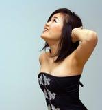 美丽的东方性感的妇女 免版税库存照片