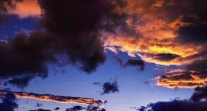 美丽的严重的天空 库存照片