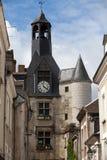 美丽的中世纪村庄昂布瓦斯 库存图片