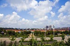 美丽的中国山东海滨 免版税库存照片