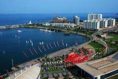 美丽的中国山东海滨 免版税图库摄影