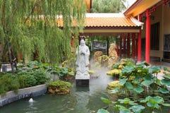 美丽的中国庭院,泰国 库存图片