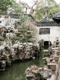 美丽的中国庭院 图库摄影