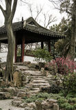 美丽的中国庭院 免版税库存照片