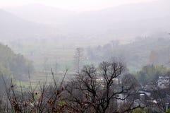 美丽的乡下中国 库存照片