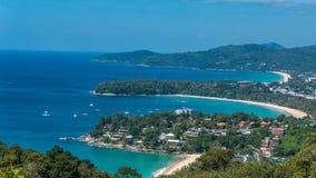 美丽的五颜六色的海湾 免版税库存照片