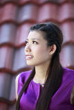 美丽的亚裔女孩 免版税图库摄影