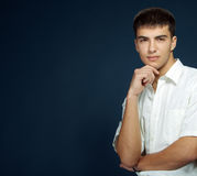 美丽的人年轻人 免版税库存照片