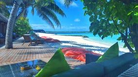 美丽的休息室和咖啡馆 免版税图库摄影