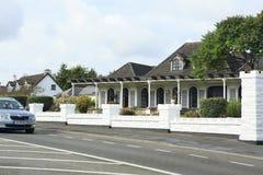 美丽的住宅乡间别墅在爱尔兰 免版税库存照片