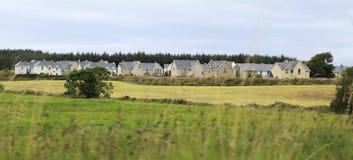 美丽的住宅乡间别墅在爱尔兰 库存照片