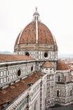美丽的佛罗伦萨大教堂圣玛丽亚del菲奥雷,意大利, cradl 库存图片