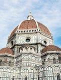 美丽的佛罗伦萨大教堂圣玛丽亚del菲奥雷,意大利, cultu 免版税图库摄影