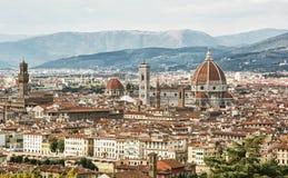 美丽的佛罗伦萨市,托斯卡纳,意大利,摇篮renaissan 免版税库存图片