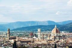 美丽的佛罗伦萨,意大利 库存照片