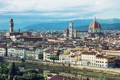 美丽的佛罗伦萨,托斯卡纳,意大利 免版税库存图片