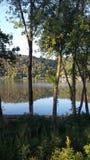 美丽的俄亥俄河 库存照片
