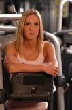 美丽的健身体操妇女 免版税图库摄影