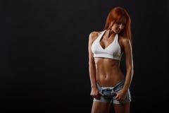 美丽的健身女性 库存图片