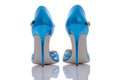 美丽的光滑的新的凉鞋 库存照片