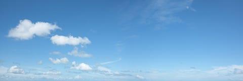 美丽的全景天空 图库摄影