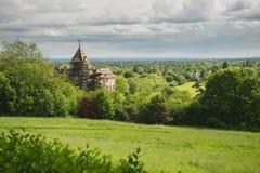 美丽的公园在里士满,伦敦 免版税库存照片