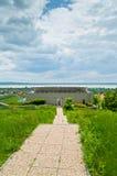 美丽的公园本质上-美丽的景色在健康旅馆公园 免版税库存照片