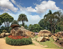美丽的公园泰国 免版税库存图片