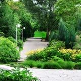 美丽的公园 免版税库存图片