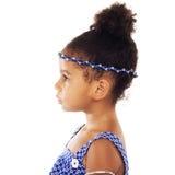 美丽的典雅的小女孩 免版税库存图片