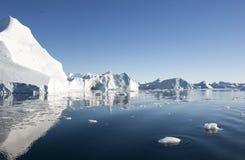 美丽的冰山 库存图片
