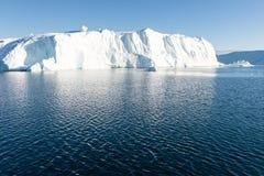 美丽的冰山 图库摄影